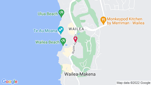 Grand Wailea Maui, A Waldorf Astoria Resort Map