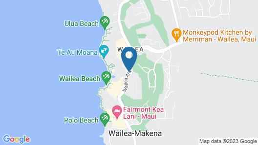 Grand Wailea Maui, A Waldorf Astoria Resort Map