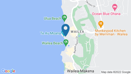 New Listing! Wailea Beach Villa B102. Rare Front Row Beach Villa! Map