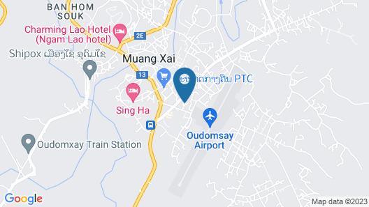 Friendship Hotel Map