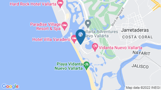 Ocean Breeze Nuevo Vallarta Map