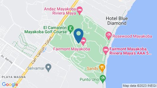 Fairmont Mayakoba Map