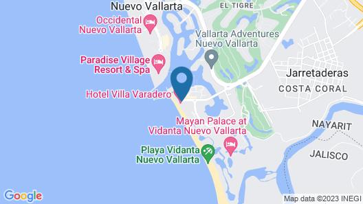 Villa Varadero Map