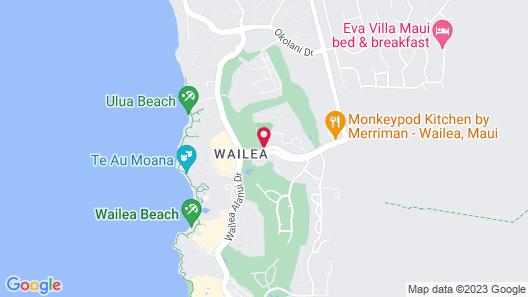 Residence Inn by Marriott Maui Wailea Map