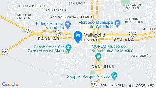 Verde Morada Hotel Encuentro Map