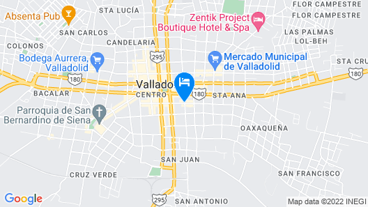 Boutique Hotel Gayser Map