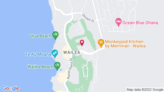 Wailea Grand Champions - Maui Condo & Home Map