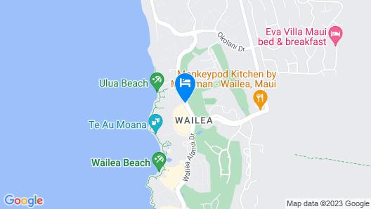 Wailea Beach Resort - Marriott, Maui Map