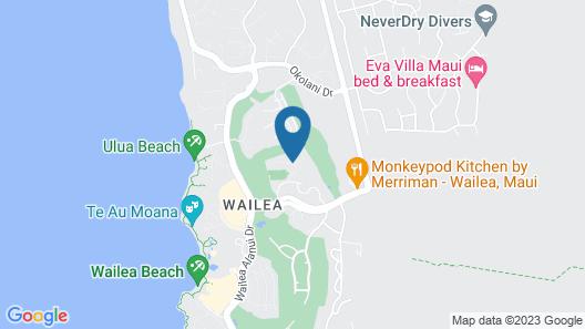 Wailea Grand Champions Villas, a Destination by Hyatt Residence Map