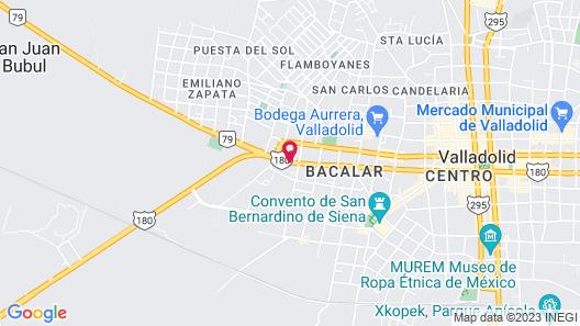 El Zaguán Colonial by GuruHotel Map