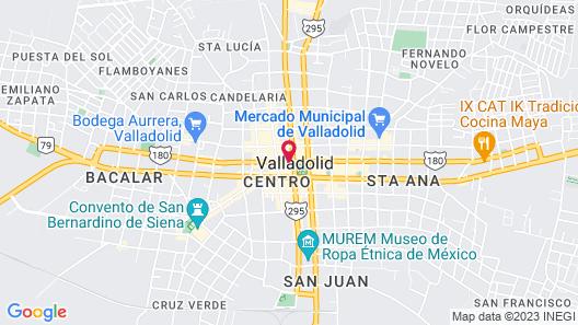 Hotel Maria de la Luz Map