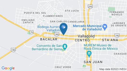 Quinta Marciala Hotel Boutique Map