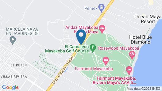 Fairmont Mayakoba All Inclusive Map
