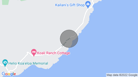Romantic Hana Hideaway, Big Ocean Views, Old Hawaii Charm Map