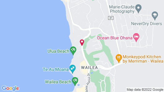 Andaz Maui at Wailea Resort - a concept by Hyatt Map