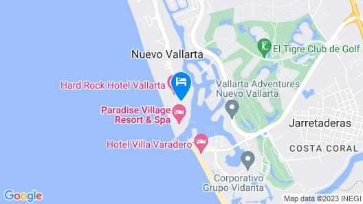 Paradise Village Beach Resort and Spa Map