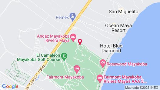 Rosewood Mayakoba Map