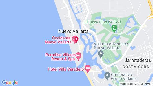 Occidental Nuevo Vallarta - All Inclusive Map