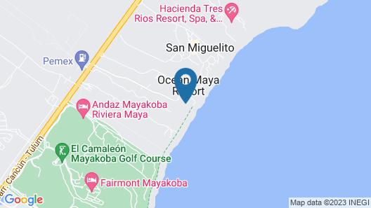 Secrets Capri Riviera Cancun Map