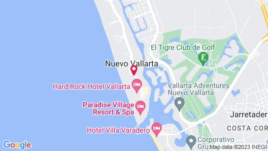 Hard Rock Hotel Vallarta - All Inclusive Map