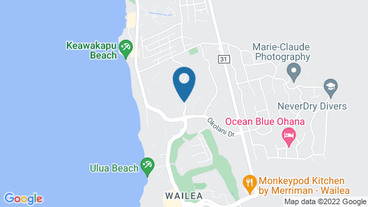 Palms at Wailea Maui by Outrigger Map