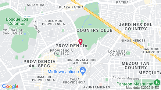 HS HOTSSON Hotel Guadalajara Country C Map