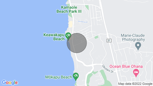Private Oasis - 3bdrm Cottage on a Full Acre at Maui's Famous Keawakapu Beach Map