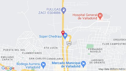 Capital O Hacienda Sánchez Map