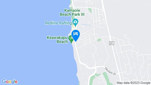 Days Inn by Wyndham Maui Oceanfront Map