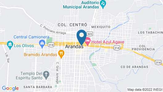 Coaranda Hotel Boutique Map