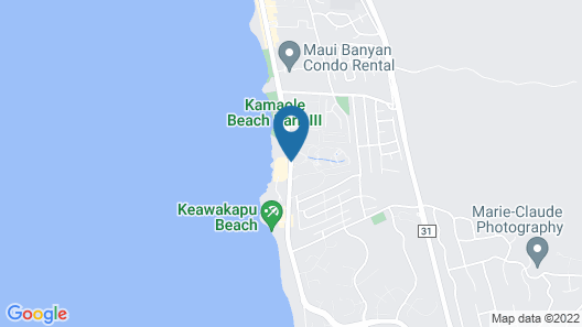 Maui Kamaole by CRH Map