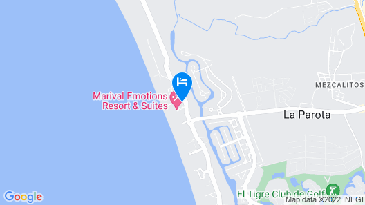 Marival Emotions Resort & Suites All Inclusive  Map