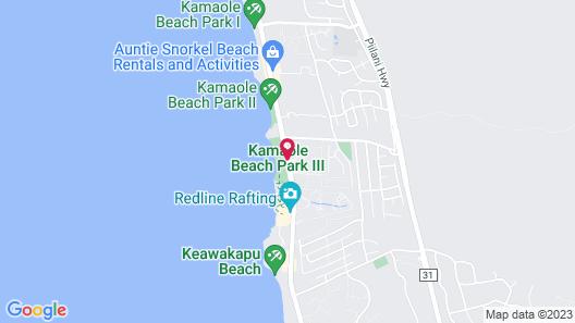 Castle Kamaole Sands, a Condominium Resort Map