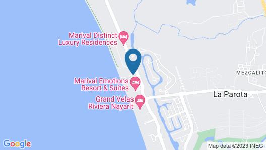 Dreams Villamagna Nuevo Vallarta - All Inclusive  Map