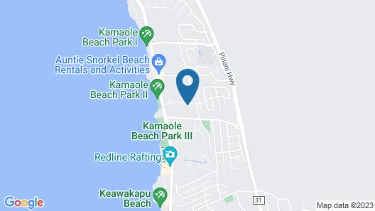 Maui Banyan #q403 1bd/1ba Partial Ocean View, Spacious Condo, A/C Sleeps 2-3 Map