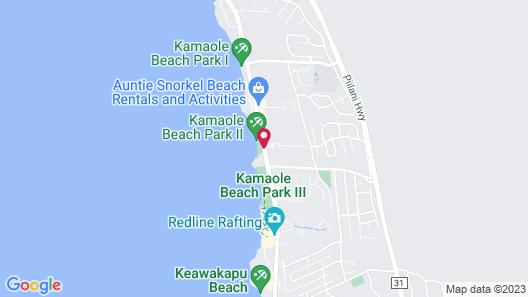 Aston at the Maui Banyan Map