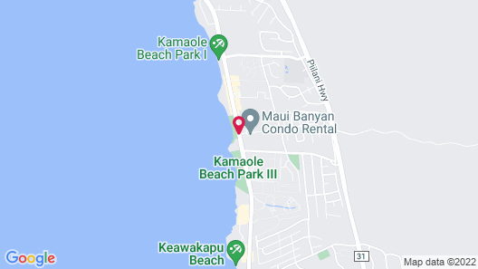 Maui Banyan - Maui Condo & Home Map