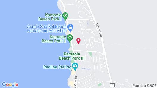 Castle Maui Banyan Map