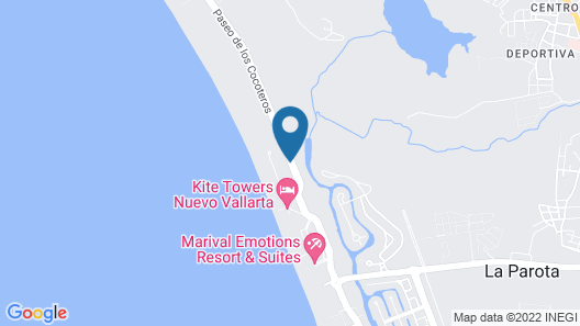 Marival Distinct Luxury Residences All Inclusive  Map