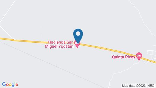 Hacienda San Miguel Map
