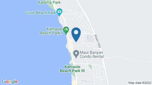 Kihei Ali'i Kai by Coldwell Banker Island Vacations Map