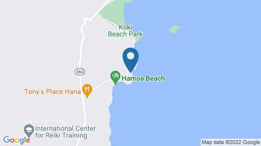 Breathtaking Oceanfront Location, Gorgeous Views, Stroll to Hamoa Beach, Hot Tub Map