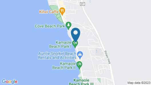 Maui Coast Hotel Map
