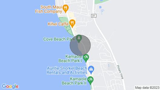 Wailea Inn Map