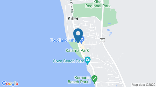 Immaculately Clean Awesome 2BR/2BA Condo by the Beach in Kihei, Maui  Map