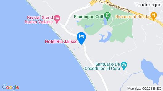 Riu Vallarta All Inclusive Map