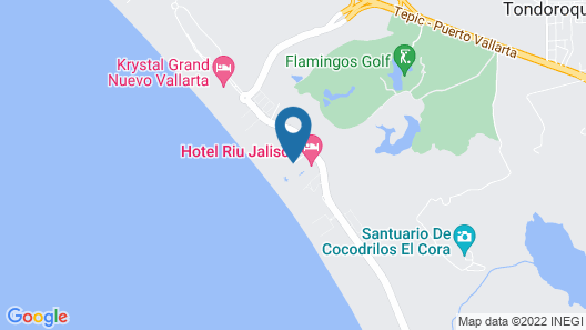 Samba Vallarta- All Inclusive Map