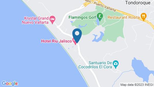 Riu Jalisco All Inclusive Map