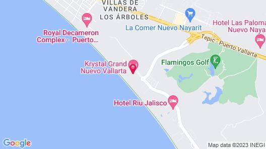 Reflect Nuevo Vallarta Map