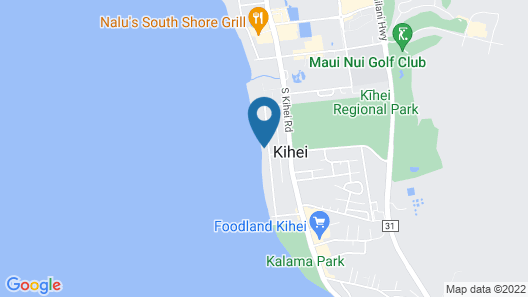 Oceanfront...endless Sunsets Everyday! Map